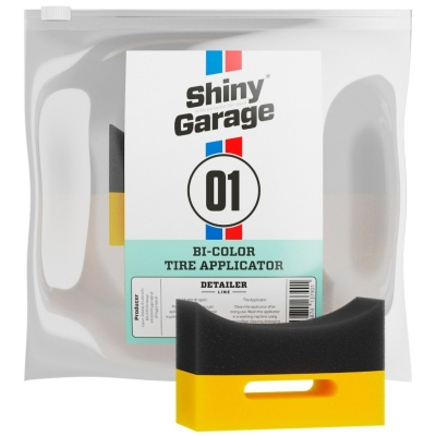 Shiny Garage Bi Colour Tire Applicator - Çift Renk Lastik Süngeri